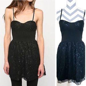 Urban Renewal Black Lace Dress